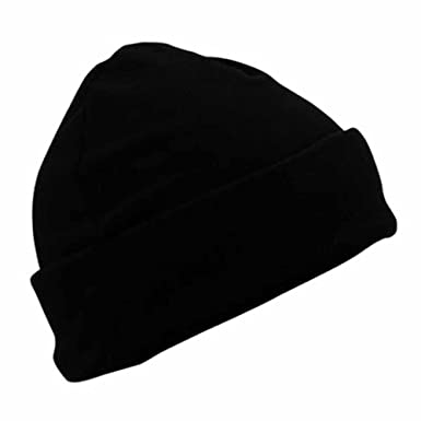 b5491c51ad MYRTLE BEACH - bonnet polaire style marin large revers - MB7720 - coloris  noir - mixte