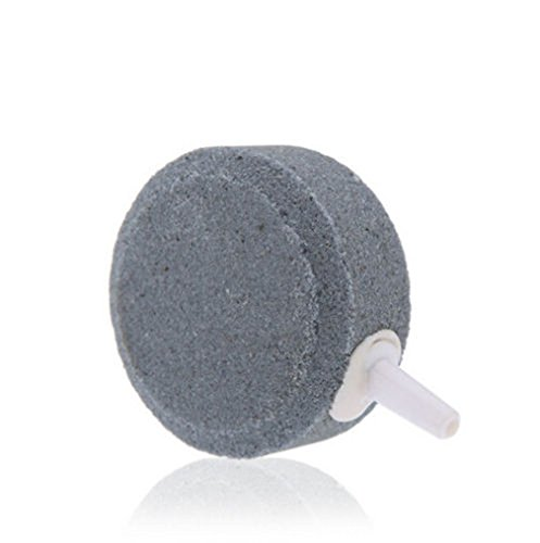 Yueton-Pack-of-4-Round-Shaped-Aquarium-Fish-Tank-Air-Bubble-Disk-Stone-Airstone