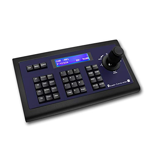 Tenveo PTZ Cameras Keyboard Controller for Business Meetings,PTZ Controller with Joystick Operation(TEVO-KZ1) ()