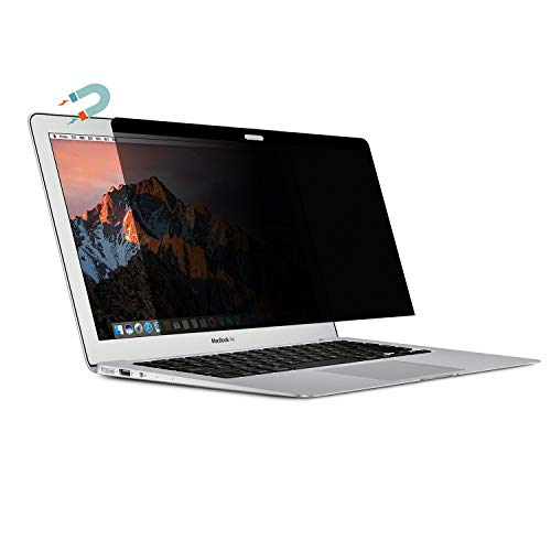13.3' Widescreen Notebook Computer - AISCPRO Magnetic Privacy Screen Protector Anti Spy Glare Easy On/Off Film Filter Compatible 2016-2018 MacBook Pro 13 Inch : A1706 / A1708 / A1989 Model (Not fit 2012-2015 Version)