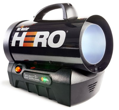 Mr. Heater MH60CLP Hero Liquid Propane Cordless Forced Air Heater (F228810) Built In Liquid Propane Heater