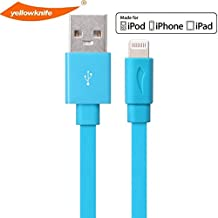 [Apple MFI Certified] Charging Cables for iPhone 5 & 6 8-pin Connector to USB for iPhone 6 & 6 Plus/5/5s/5c from Yellowknife - Fits iPad Mini, iPad Air, iPod Nano and iPod Touch & iPhone 5 5S 5C 6s 6s Plus