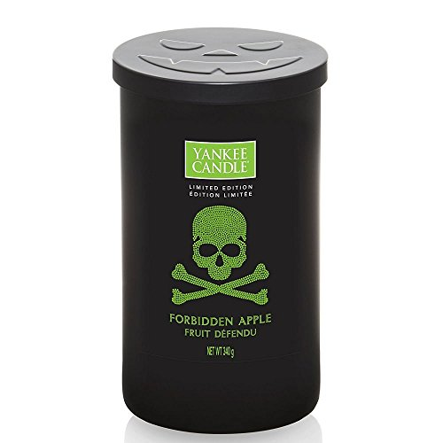 Yankee Candle Forbidden Apple Medium Pillar Candle]()
