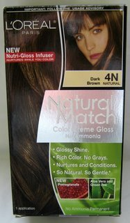 L'Oreal Natural Match Hair Colour, Dark (Hair Color Match)
