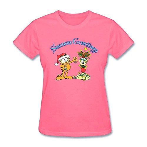 Tee Center Season Greeting Shirts Womens Organic