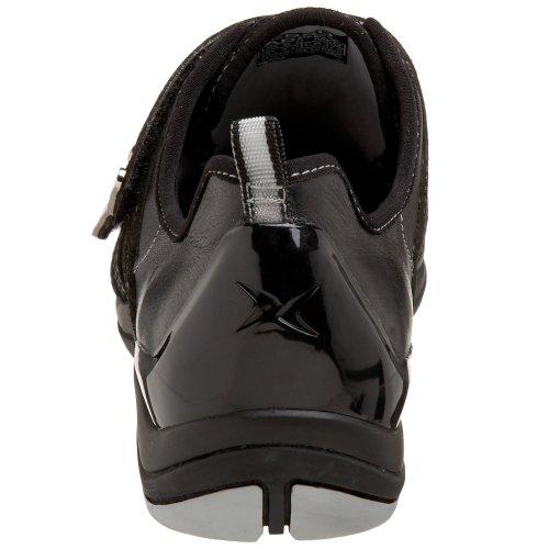 Aetrex Damesschoen Abbey Double Strap Sneaker Zwart