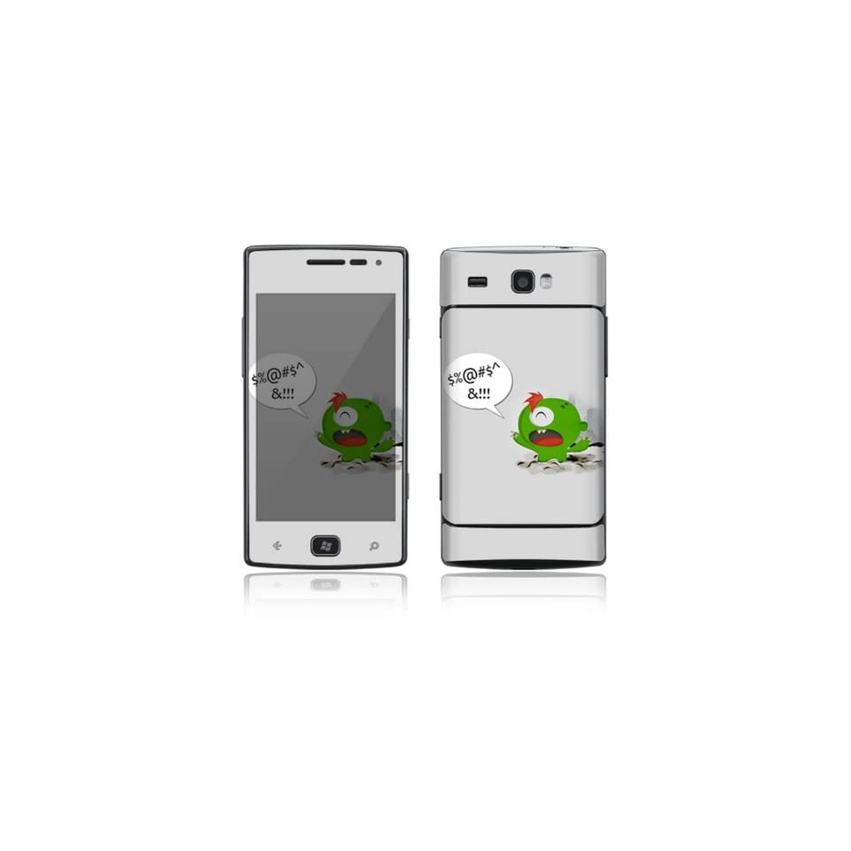 The Grinch Monster Decorative Skin Cover Decal Sticker for Samsung Focus Flash SGH i677 Cell Phone