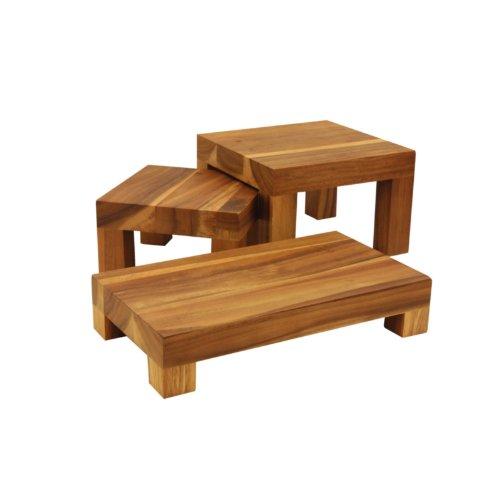 T /& G Woodware gf194/mesa de madera elevador 120/mm de alto