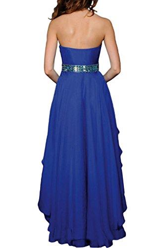 sera cuore cintura donna blu 44 abito Festa pietre vestito di Lo a royal abito Hi da forma ressing Fashion ivyd Party Prom XBfwqYTX