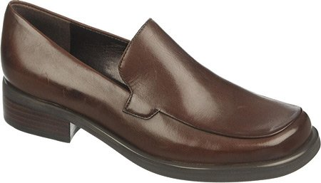 Calfskin Womens Casual Shoes - Franco Sarto Women's Bocca Loafer,Oxford Brown Calf,US 10.5 N