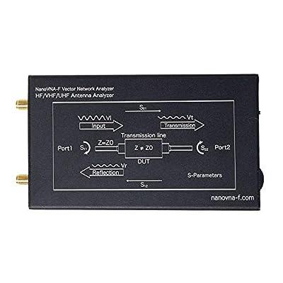 """Adoner HF VHF UHF NanoVNA-F Vector Network Analyzer Kit 50KHz-1000MHz 4.3"""" LCD USB 5V"""