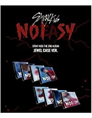 Stray Kids NOEASY 2nd Album Jewel Case HAN Cover CD+20p PhotoBook+1p Sticker+1p PhotoCard+Message PhotoCard Set+Tracking Kpop Sealed