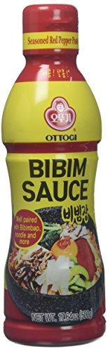Ottogi Korean Gochujang Red Pepper Paste (Bibimjang), 18 oz.