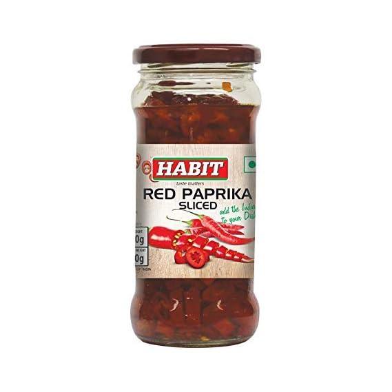 Habit Red Paprika Sliced 350g