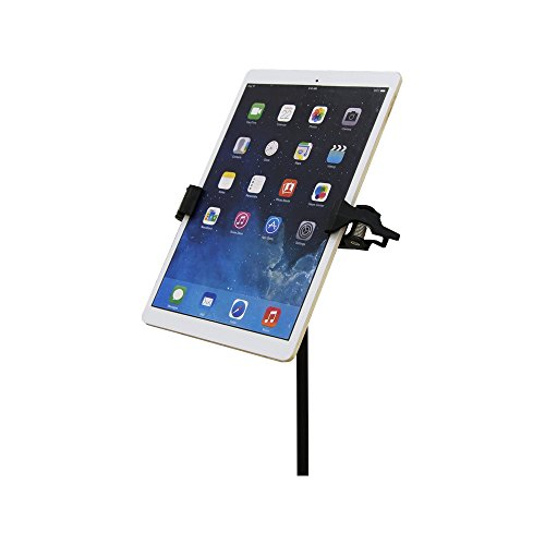 Manos Universal Tablet Holder - Universal Microphone mic Stand Smartphone Tablet Holder Mount