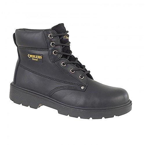 pour Amblers de Noir femme Chaussures Steel FS159 sécurité 7wEXnWqqS8