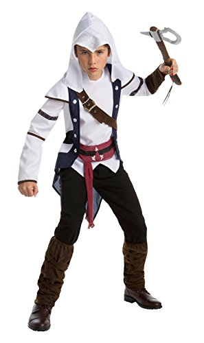 Assassin's Creed Connor Classic Teen Costume, Size 14-16 -