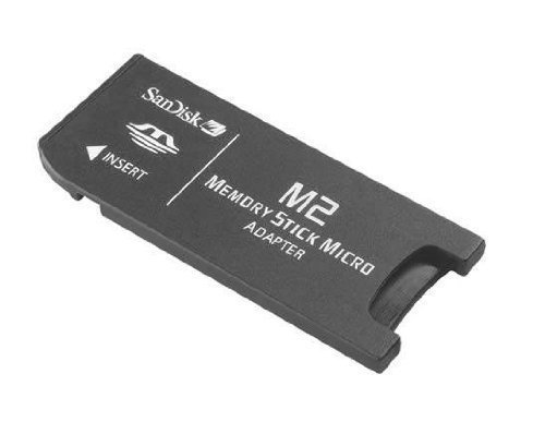 Sandisk Memory Stick Micro M2 to Standard Memory Stick and MS Pro Adapter (Not for Pro Duo). LYSB003RC47K2-ELECTRNCS