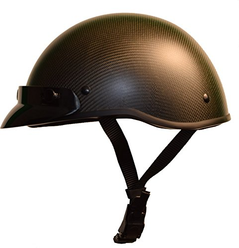 Low Profile Carbon Fiber Motorcycle Helmets - 3