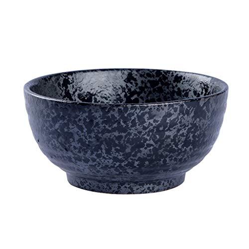 Bowl Ceramic Grain Bowl Restaurant Large Soup Bowl Fruit Salad Bowl Household Tableware (Color : 6.75 INCHES) ()