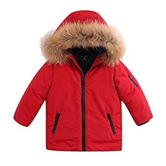 04f580168 Amazon.com  marc janie Boys Girls  Lightweight Packable Hooded Down ...
