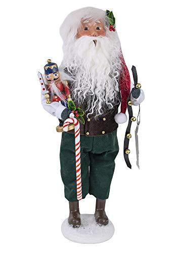 Byers' Choice Nutcracker Santa Figurine 3198 from The Santa Families - Nutcracker Santa