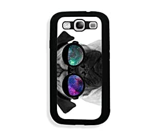 Galaxy S3 Case - Galaxy S III Case - Pug Geek Space Hipster Galaxy Samsung Galaxy i9300 Case Snap On Case