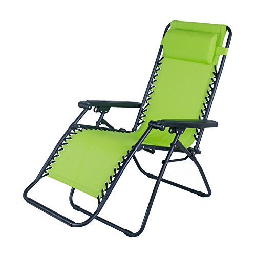 Adeco Outdoor Folding Reclining Zero Gravity Chair Foldable product image