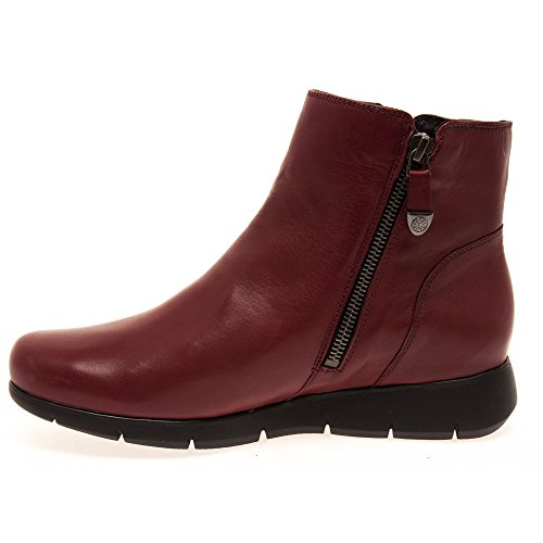 Mobils Womens Dorine Oxblood Leather Boots 38 EU