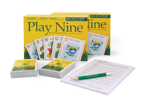 - Play Nine - The Card Game of Golf! (2 Pack)