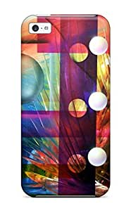 Iphone 5c Cover Case - Eco-friendly Packaging(abstract Painting )