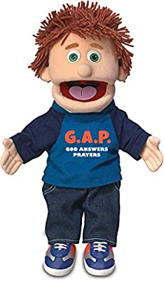 """14"""" God Answers Prayers, Peach Boy, Christian Ministry Hand Puppet from Silly Puppets"""