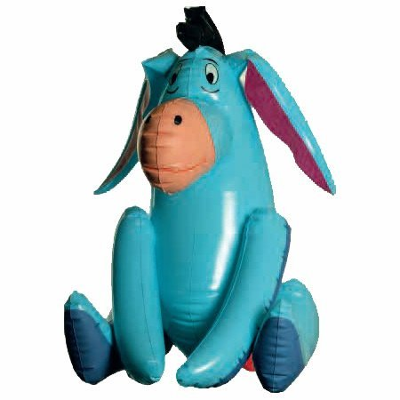 Tap Ball - Eeyore Inflatable Character 52 cm by Disney (Eeyore Character)