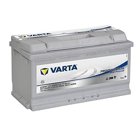 Varta Professionnal Decharge Lente Lfd90 Batterie Bateaux, Camping-Cars, Loisirs, 12 V 90Ah 800 Amps (En) 930090080B912