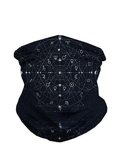 iHeartRaves Zen Zodiac Seamless Mask Bandana