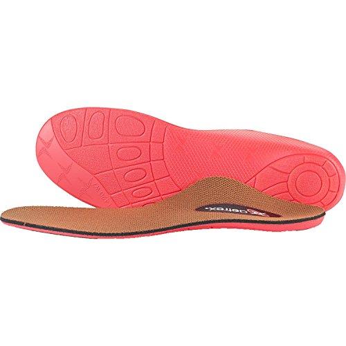 Aetrex Lynco Sports L420W Brown Womens Orthotics Insoles (9 B(M) US, Brown/Pink) ()