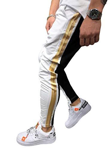 Uomo White Mikely Mikely Uomo Store Store White Pantaloni Pantaloni Mikely Store qrvBawz1Aq