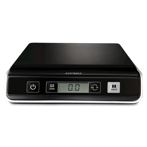 Wholesale CASE of 5 - Pelouze DYMO Digital USB Postal Scales-Digital Postal Scale, M10, Capacity 10lb., Black/Silver