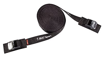 31062 BIC Kayak Roof Rack Strap (2), 15-Feet by BIC Sport