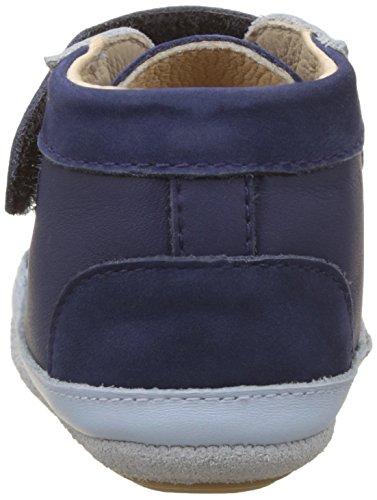 Marineblau Baby Lauflernschuhe für Blau Basket Jungen Babys Cool Robeez 87dxvpv