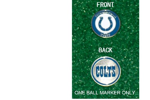 (Indianapolis Colts NFL Double Sided Ball Single Marker Only)
