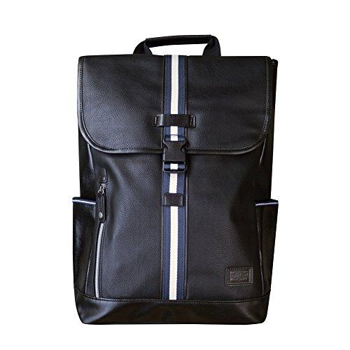 Harvet Label Connect Portsman Flaptop Backpack (Black) by Harvet Label