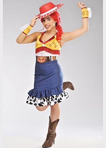 Disfraz de señora Toy Story Jessie Dress Medium (UK 12-14): Amazon ...
