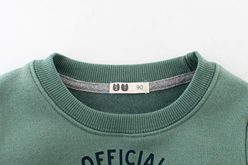 f606f15459c BesserBay Boys Shirts Toddler Long Sleeve Top Kids Football Tee Sweatshirt 2-10  Years