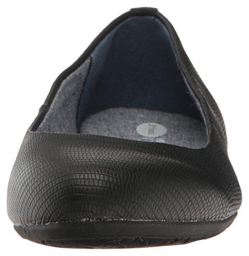 Women's Scholl's Giorgie Print Shoes Flat Dr Black Reptile pEdqc