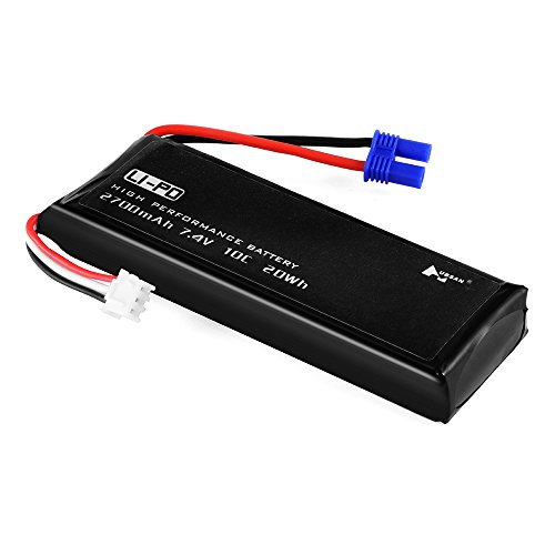 XCSOURCE 7.4V 2700mAh 10C Lipo Battery Replacement for Hubsan H501S Quadcopter BC655