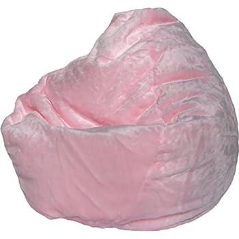 Amazon Com Bean Bag Boys Bean Bag Light Pink Kitchen