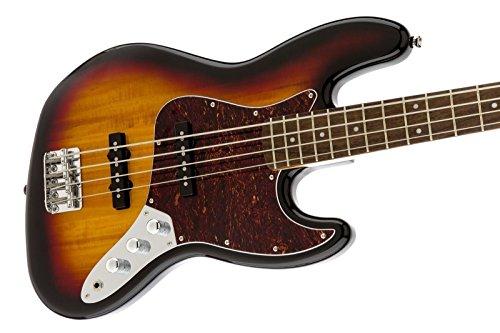 Squier by Fender 306600500 Vintage Modified Jazz Bass, 3-Tone Sunburst