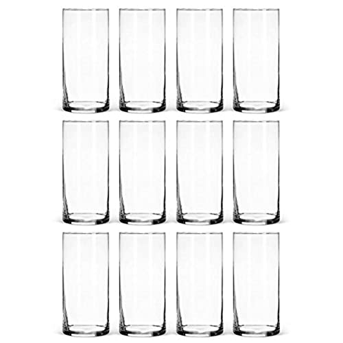 Bulk wedding centerpieces amazon glass cylinder vases bulk set of 12 for wedding reception centerpiece sets and formal dinners junglespirit Gallery
