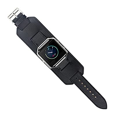 Fitbit Blaze Accessory Band, HP95(TM) Sports PU Leather Watch Band Replacement Watch Band Adjustable Watch Band Wrist strap for Fitbit Blaze Smart Watch